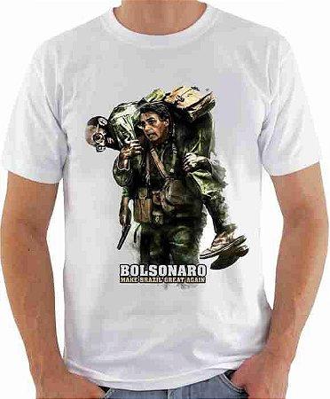 Camiseta Jair Bolsonaro (modelo 01)