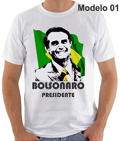 Camiseta Jair Bolsonaro (modelo 02)