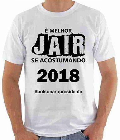 Camiseta Jair Bolsonaro (modelo 04)