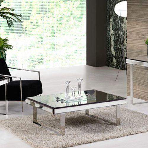 Mesa de centro Elegance Aço Inox Espelhada