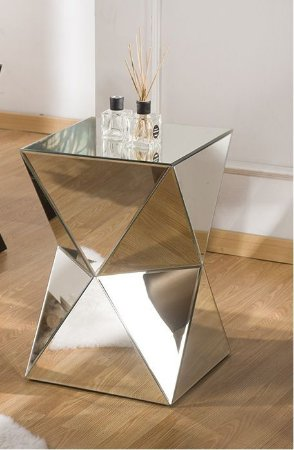 Mesa de Centro Munique Espelhada ou Vidro Pintado