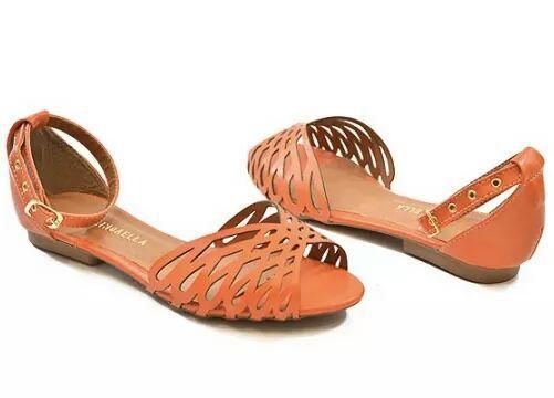 Sandália Baixa Elegante