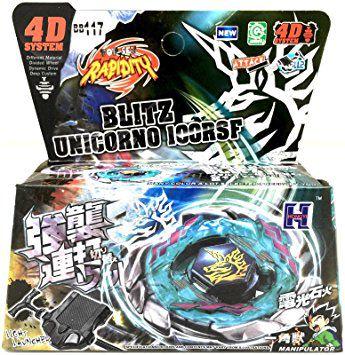 Beyblade Metal Fusion 4D - Blitz Unicórnio (BB117) Original Rapidity