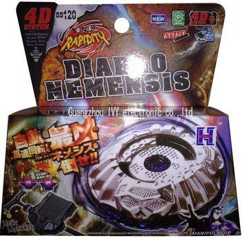 Beyblade Metal Fusion 4D - Diablo NEMENSIS (BB120) Original Rapidity