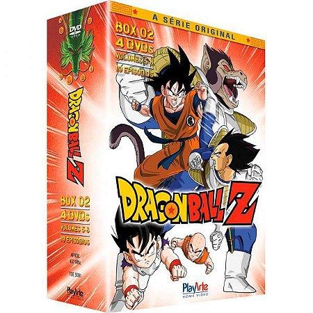 Dragon Ball Z, Box Completo Dvd ( Mídias Printadas )