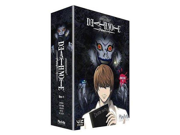 Death Note, Box Completo Dvd ( Mídias Printadas )