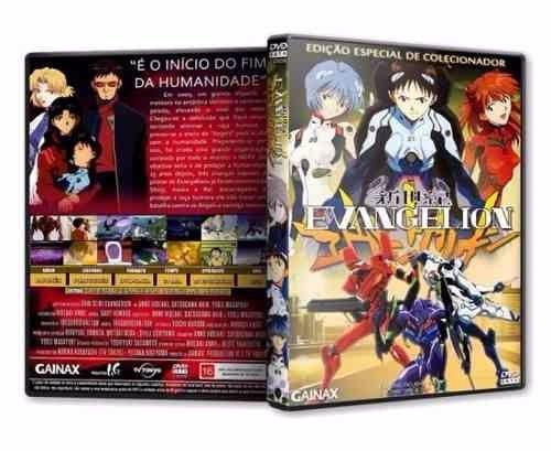 Evangelion Neon Genesis, Box Completo Dvd ( Mídias Printadas )
