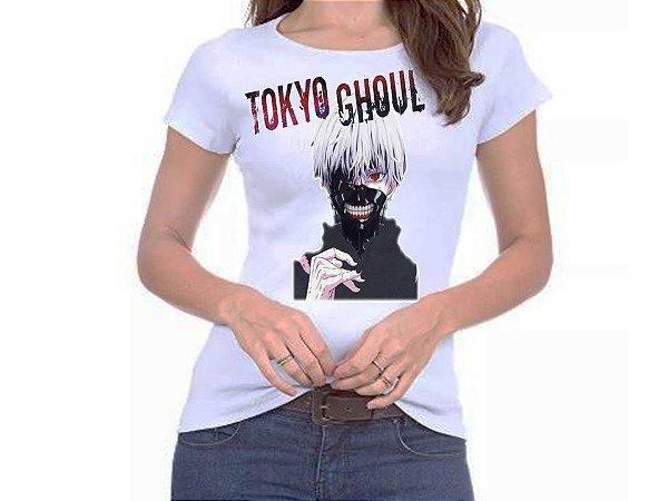 Camiseta Feminina / Masculina - Tokyo Ghoul Ken Kaneki 3
