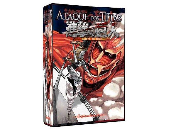 Shingeki no Kyojin ( Ataque dos Titãs ), Box Completo Dvd