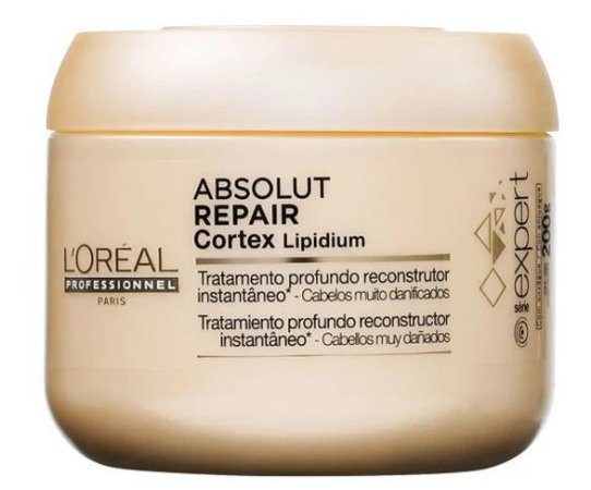 L'Oréal Professionnel Absolut Repair Cortex Lipidium Instant Reconstructing Masque - Máscara 200g