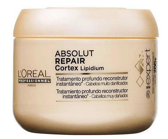 L'Oréal Professionnel Absolut Repair Cortex Lipidium Instant Reconstructing Masque - Máscara 200g
