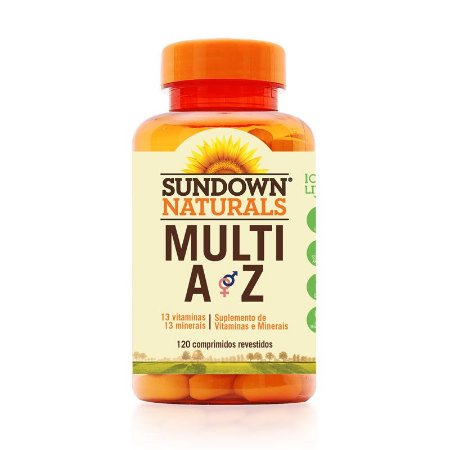 Multi AZ (Multivitamínico) 120 Comprimidos - Sundown