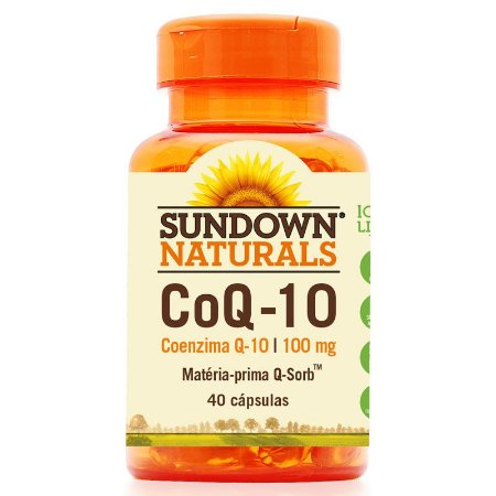 CoQ-10 (Coenzima Q10) 40 Cápsulas - Sundown