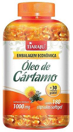 dcae1360c Óleo de Cartamo 1000 mg (180 Cápsulas) - Tiaraju - Vitaminas já ...