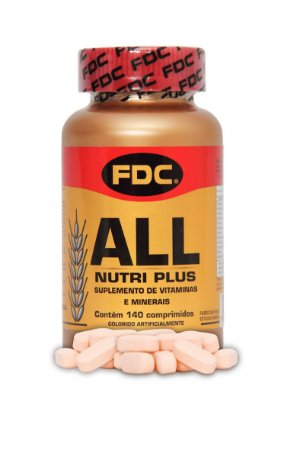 All Nutri Plus (140 Comprimidos) - FDC