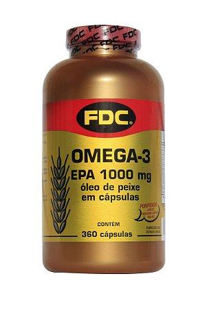 Omega 3 (EPA 1000mg) 360 Cápsulas - FDC