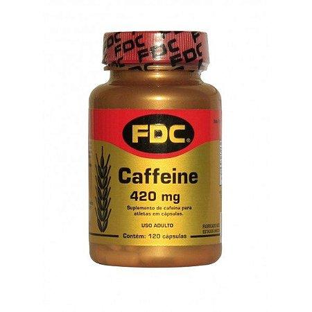 Cafeina - 420mg - (120 Cápsulas) - FDC Vitaminas