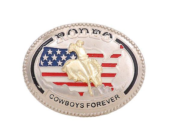 Fivela Country Cowboys Forever