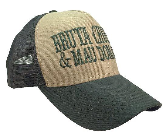 Boné Country Bruta Chucra e Mal Domada Verde