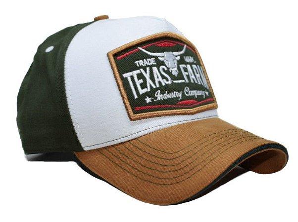 Boné Country Texas Farm  Tricolor