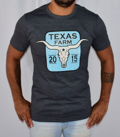 Camisa Texas Farm Bull Skull