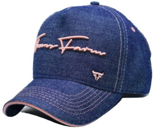 Boné Country Texas Farm Feminino Jeans