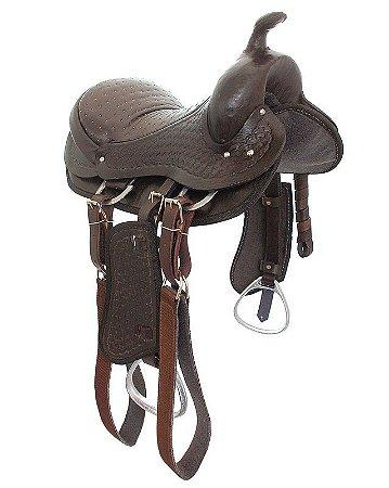 Sela Infantil com arreatas para cavalo grande porte
