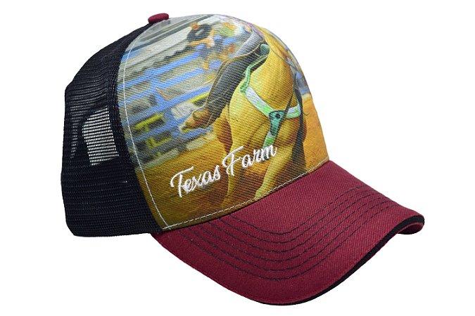 Boné Country Texas Farm Peão