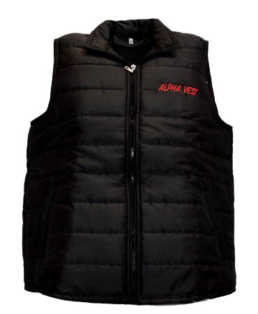 Colete Country Alpha Vest Preto