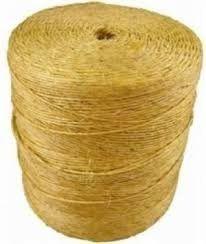 Corda Torcida De Sisal Fio Natural 3,2mm Rolo 1800mt