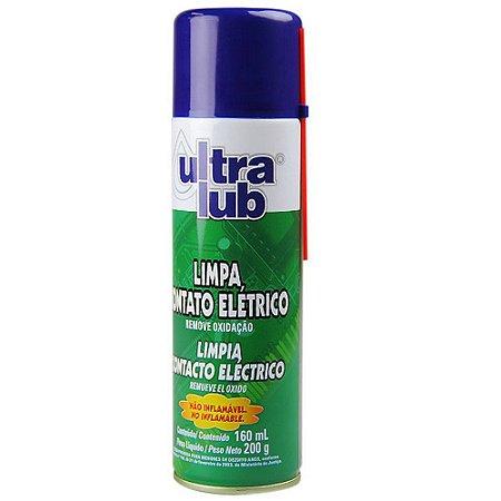 Kit 6 Limpa Contato Eletrico Spray Para Eletronicos Ultralub 205ml