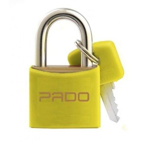 Cadeado Pado Color 20mm Amarelo