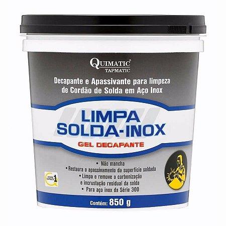 Limpa Solda Gel Decapante Para Aço Inox 850g Tapmatic