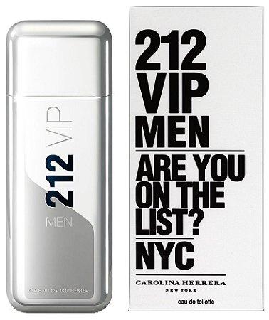 212 Vip Men Carolina Herrera Perfume Masculino Eau De Toilette