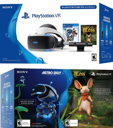 Vr Playstation 4  Com 2 Jogos. 1 Bundle Astro Bot + 1 Moss - Zvr2 . Com Câmera