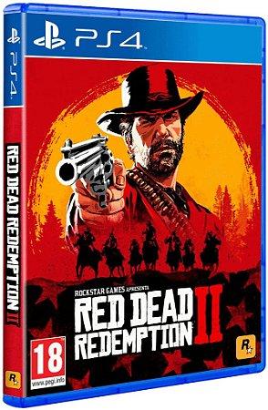 Jogo Red Dead Redemption 2 - Playstation Ps4 Mídia Física