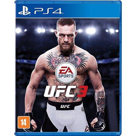 Jogo UFC 3 - Playstation Ps4 Mídia Física