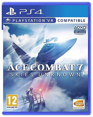 Jogo Ace Combat 7 - Playstation Ps4 Mídia Física