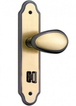 Fechadura Porta Banheiro Wc 823/10 Oxidado Golf Stam