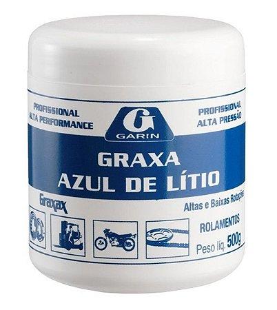 Graxa De Lítio Azul Para Rolamento Garin 500g