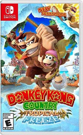 Jogo Donkey Kong Country Tropical Freeze - Switch Mídia Física