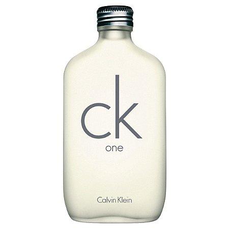 Ck One Calvin Klein - Perfume Unissex - Eau de Toilette - 100ml