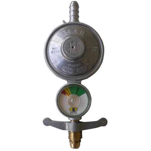 Registro Regulador Válvula De Gás Imar Para Botijão Com Medidor