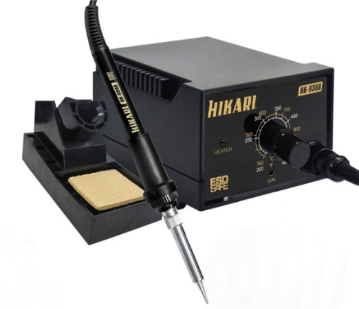Estação Solda Analógica Hikari Hk 936a Temperatura Ajustável