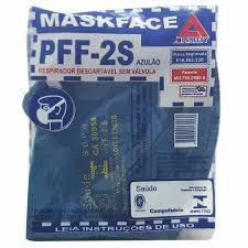 MASCARA PFF-2 AIR-SAFETY SBPR CA 38955
