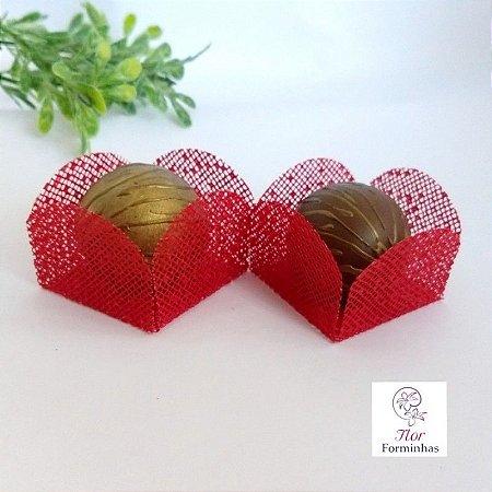 25 Formas para doces - Caixeta Vermelho - F002