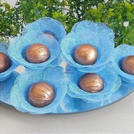 50 Formas para doces Camelia - Azul Bebe F011