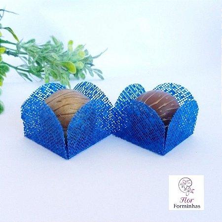50 Formas para doces - Caixeta Azul Royal -F002