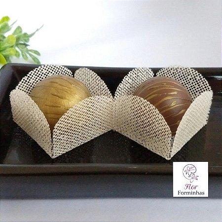 50 Formas para doces - Caixeta Marfim -F002