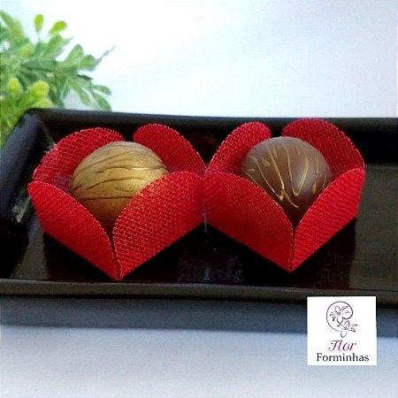 50 Formas para doces - Caixeta Vermelho -F002